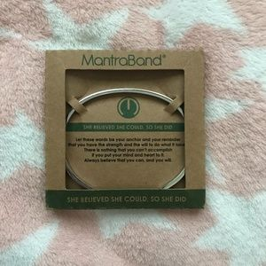 "MantraBand ""She Believed She Could, So She Did"""